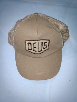 Preloved Deus Ex Machina Khaki Trucker Cap.