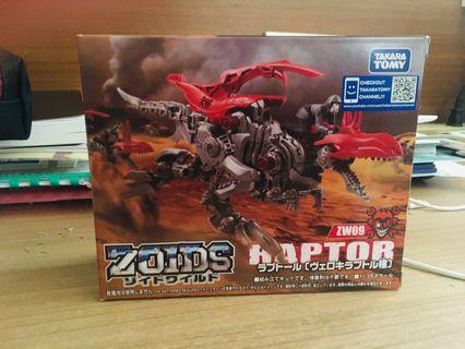 🚚 全新ZOIDS ZW09 Raptor