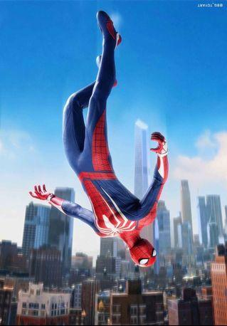 Hottoys VGM31 Spider Man (Advanced Suit)PS4 蜘蛛俠 全新未開
