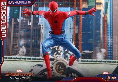 Hottoys MMS535 Spider Man (Movie Promo Edition)紅藍 蜘蛛俠 全新現貨