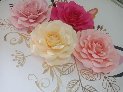 Unicorn Paper Flowers
