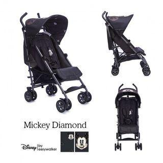 Limited edition Disney x easywalker stroller second jual murah