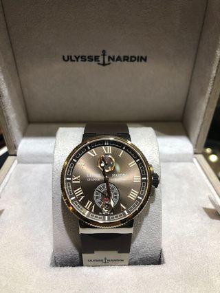 Ulysee Nardin Marine Chronometer Manufacture 43mm