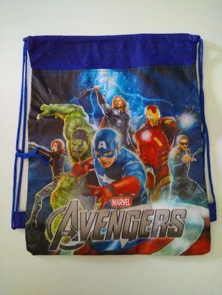 (NEW) Marvel Avengers Drawstring Bag