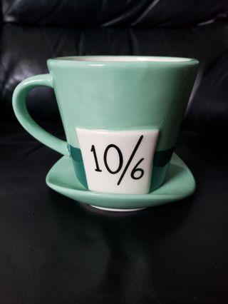 Disney Store 愛麗絲 瘋帽子 Alice Mad Hatter 陶瓷杯