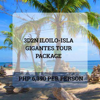 3D2N Iloilo + Gigantes Island Tour Package