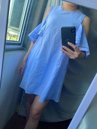 Light blue dress