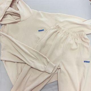 Pink Hoodie + Sweatpants SET