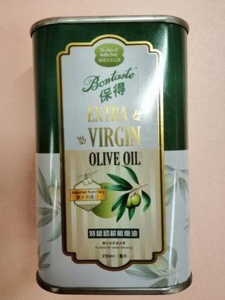 保德初搾橄欖油 250 ml
