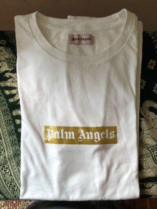 🚚 Palm Angels Gold Box Logo