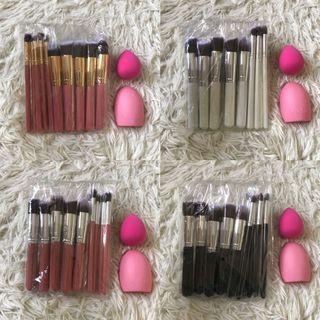 Kabuki Brush Makeup Set + Free Gifts
