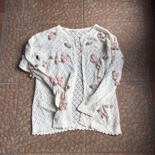 Knit Cardigan Lucu