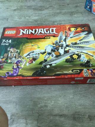 LEGO ninjago  master of spinjitzu LEGO set 70748