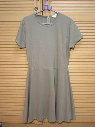 #maugopay Midi Dress Brown Polos
