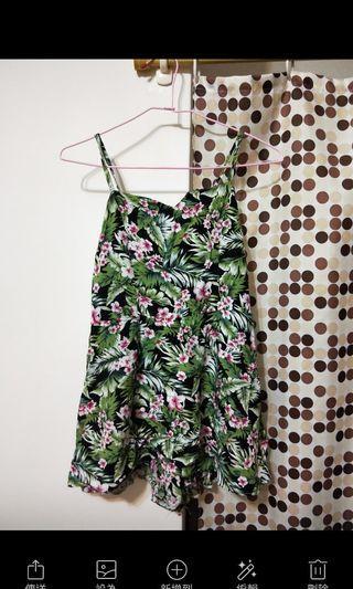 南洋風連身褲裙