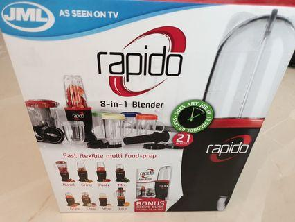 Fast flexible blender