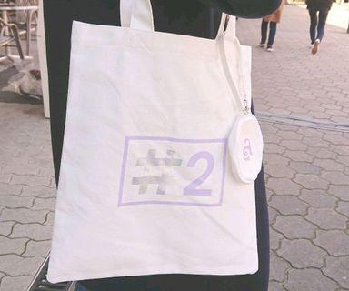 #Twice2 Release Event Tote Bag