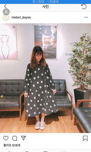 現貨Midori綠購入日系小裙子 連身裙出清