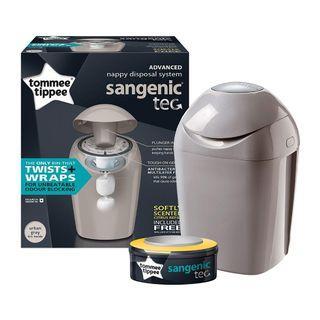 New in Box, Tommee Tippee Sangenic Tec Nappy Disposal Bin