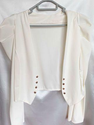 OL白色外套