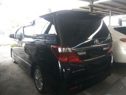 Toyota Alphard 2.4 type gold spec unregistered