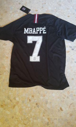 Mbappé 2018-19 PSG Jordan Jersey Size M