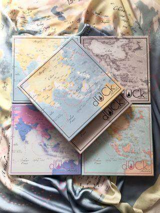 The World Map In Vintage