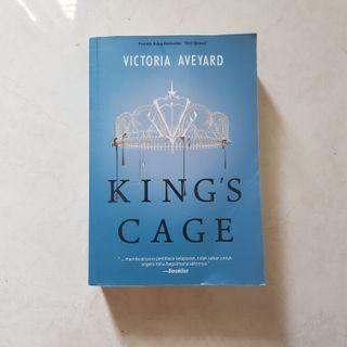 Novel King's Cage Bahasa Indonesia