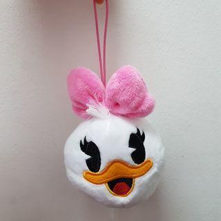 [New Instocks] Disney Daisy Duck Mini Soft Toy Plush Toy Stuffed Toy Bag Charm - Original