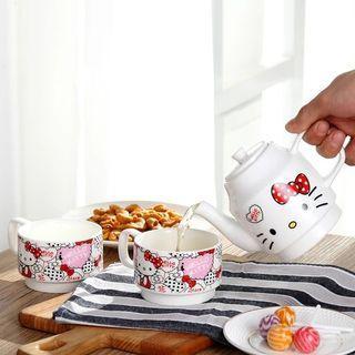 [PO] Hello Kitty Teapot Set