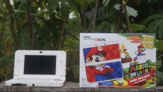 Nintendo new3ds mario edition