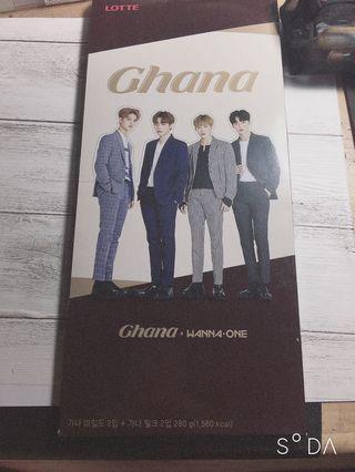 🚚 Wanna one巧克力空盒