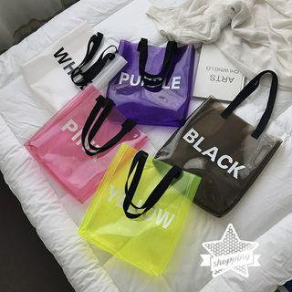 PVC透明手提袋