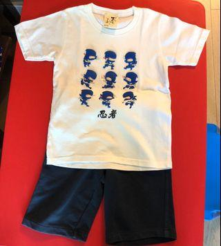 Japanese T-shirt and M&S pants