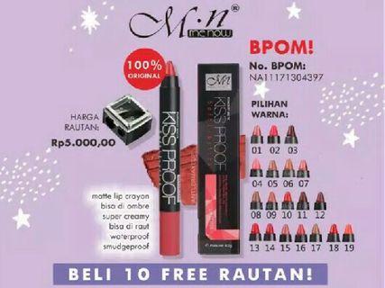 #maugopay BPOM kissproof creamy matte lipstick
