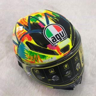Helm AGV pista  soleluna winter test 2019