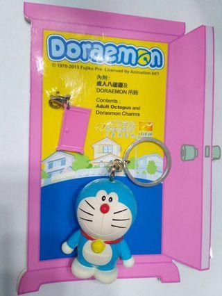 Doraemon 成人八達通連Doraemon 吊飾 Adult Octopus and Doraemon Charms