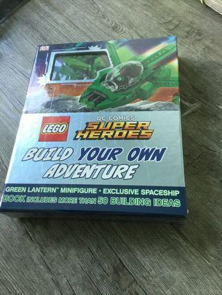 LEGO DC comics Super hero lego book