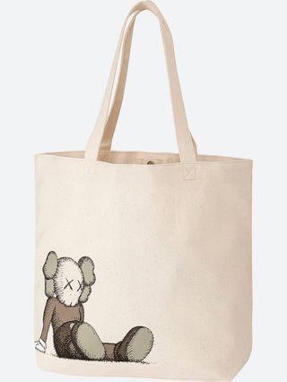 2 Uniqlo Kaws Tote Bag Package Deal