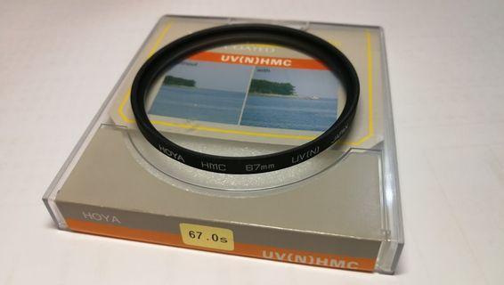 Hoya 67mm UV HMC 濾鏡