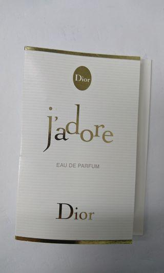 Dior 迪奧J'adore 香氛針管香水1ml