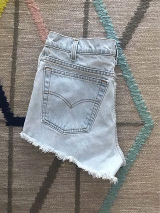 Vintage Levi's High Waisted Shorts from Aritzia
