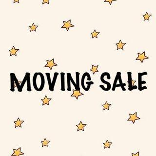 MOVING SALE