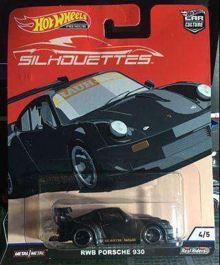 Car Culture Silhouette Porsche 930 WRB