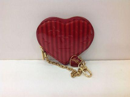 LV VERNIS LIMITED EDITION HEART COIN PURSE