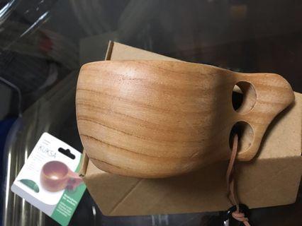 Kuksa wooden mug from Finland