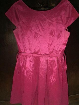 Dress Pink Fuschia👌🏻