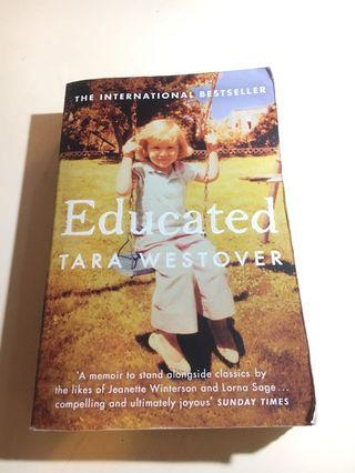 Educated Tara Westover English Book Memoir Novel