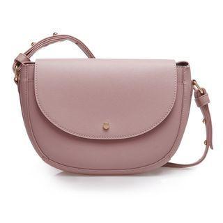 Sometime by Asian designer - Moon Shape Sling Bag- Nude Pink