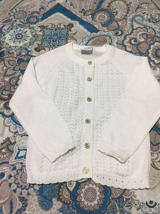 White Cardigan / Jacket